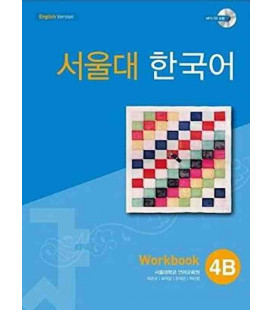 Seoul University Korean 4B Workbook - English Version (CD MP3 incluso)