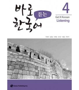 Get it Korean 4 (Listening) Kyunghee Hangugeo (Con download gratuito degli audio)