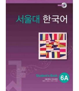 Seoul University Korean 6A Student's Book - English Version (CD-ROM incluso)