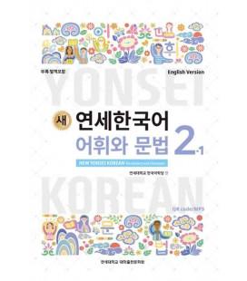 New Yonsei Korean - Vocabulary and Grammar 2-1 (QR code pour audio MP3)