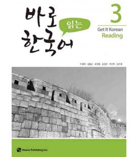 Get it Korean 3 (Reading) Kyunghee Hangugeo (Con download gratuito degli audio)