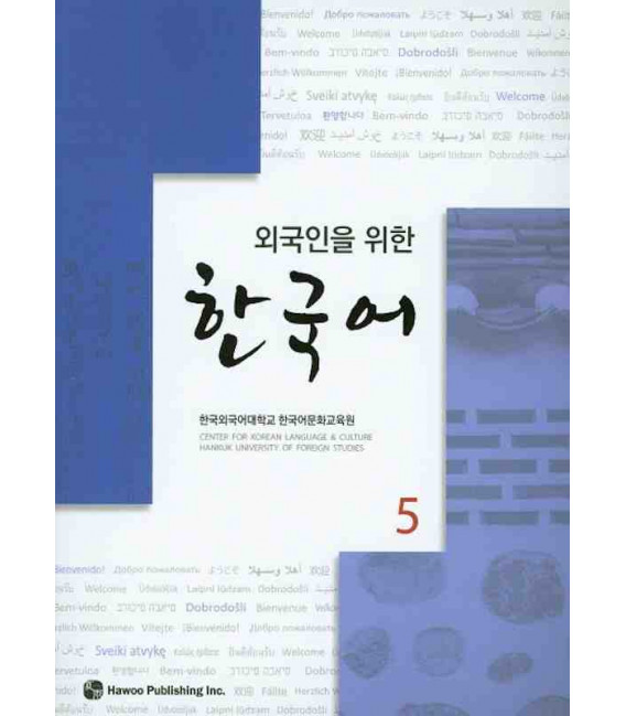 Korean for Foreigners 5 Textbook (CD Incluso) Hankuk University of Foreign Studies