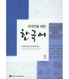 Korean for Foreigners 5 Textbook (Incluye CD) Hankuk University of Foreign Studies