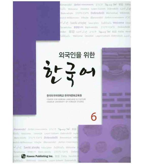 Korean for Foreigners 6 Textbook (Incluye CD) Hankuk University of Foreign Studies