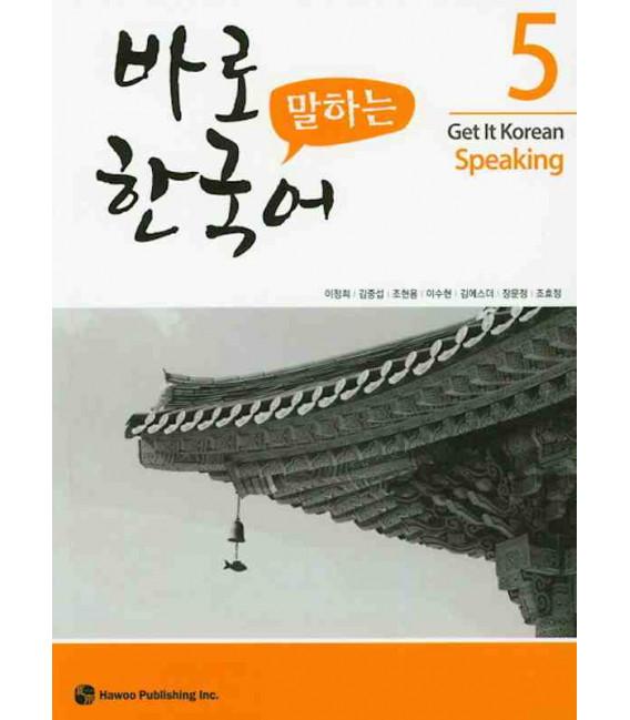 Get it Korean 5 (Speaking) Kyunghee Hangugeo (Con download gratuito degli audio) Revised Edition