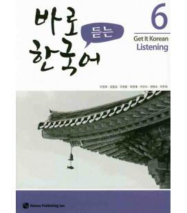 Get it Korean 6 (Listening) Kyunghee Hangugeo (Con download gratuito degli audio) Revised Edition