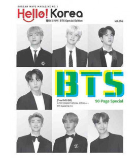 Hello! Korea BTS Special Edition - Included K-MUSIC Concert Special DVD (80min) - New edition