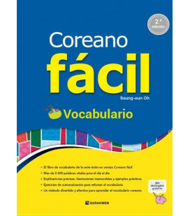 Coreano fácil - Vocabulario (2ª edición) - Includes QR Code for audios