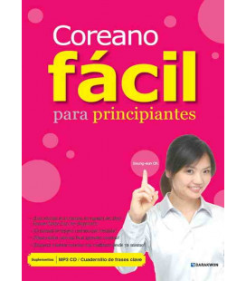 Coreano facile per principianti (CD incluso MP3 e quadernino di frasi chiave)