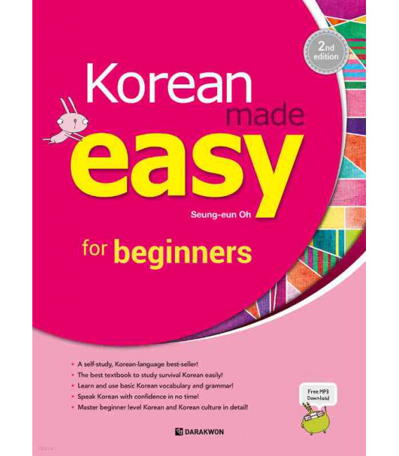 Korean made easy for beginners - 2nd Edition (Includes audio download)
