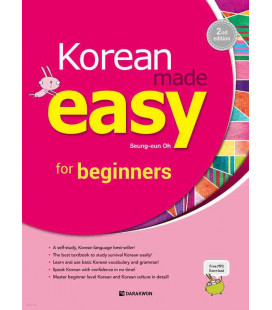 Korean made easy for beginners - 2nd Edition (Incl. Audio/MP3 à télécharger)