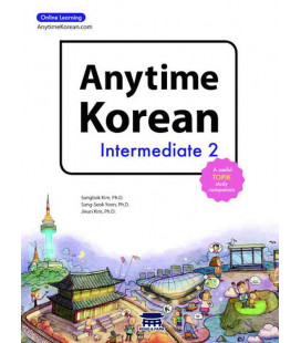 Anytime Korean Intermediate 2 (Book + Audio + 6 months subscription to Online Learning)