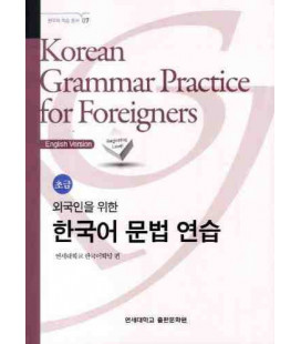 Korean Grammar Practice for Foreigners - Beginning Level (English Version)