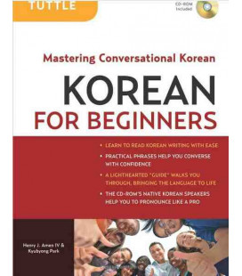 Korean for Beginners - Mastering Conversationl Korean (CD ROM Included)