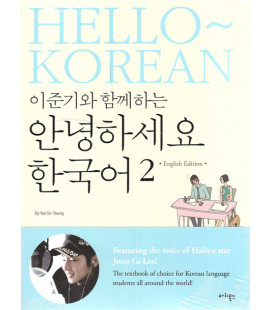 Hello Korean 2 (English Edition- book+1 CD)- Featuring the voice of Hallyu star Joon Gi Lee