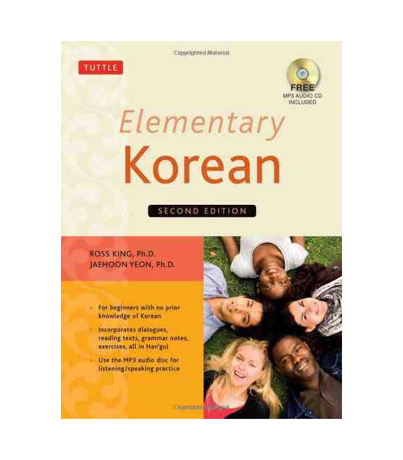 Elementary Korean-Second Edition (Audio CD MP2 Inklusive)