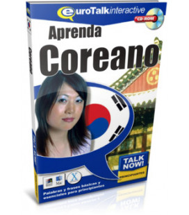 Aprenda Coreano- Talk Now para Principiantes (Euro Talk- CD-ROM interactivo con base española)