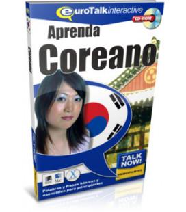 Aprenda Coreano- Talk Now per Principianti (Euro Talk- CD-ROM interattivo con base spagnola)