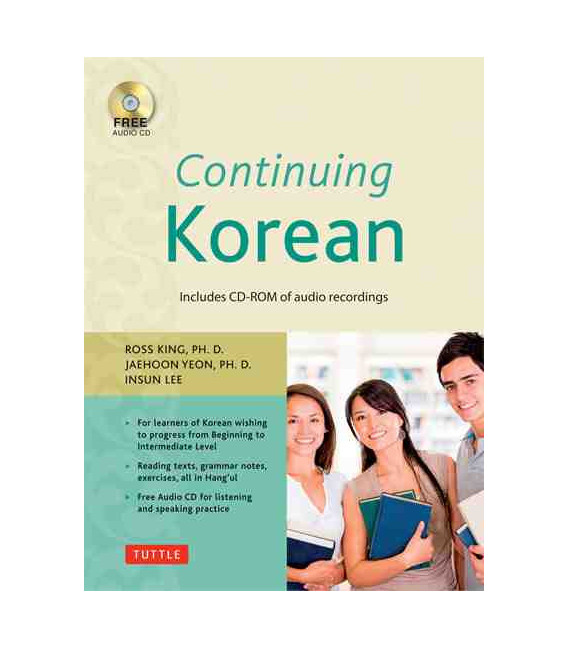 Continuing Korean- Second Edition (Includes Audio CD-ROM)