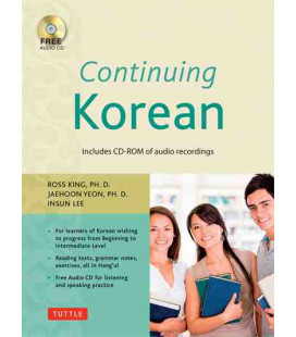 Continuing Korean- Second Edition (Audio CD-ROM incluso)