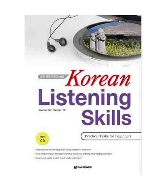 Korean Listening Skills- Practical Task for Beginers (INCLUYE CD MP3)