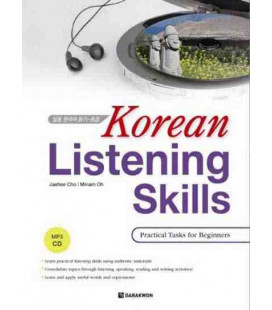 Korean Listening Skills- Practical Task for Beginers (CD MP3 Inclus)