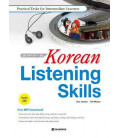 Korean Listening Skills- Practical Task for Intermediate Learners (CD MP3 Incluso)