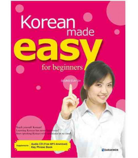 Korean made easy for beginners (Incluye AUDIO CD, MP3 pour descargar y Key Phrase Book)