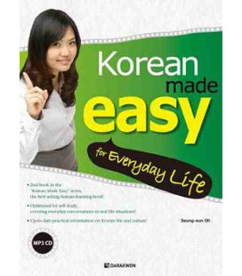 Korean made easy for Everyday Life (CD incluso MP3)