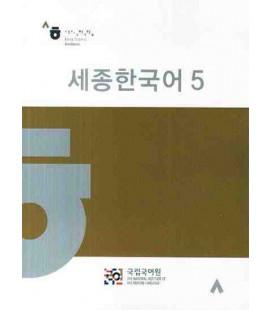 Sejong Korean vol.5 - Textos solo en coreano - Incluye CD