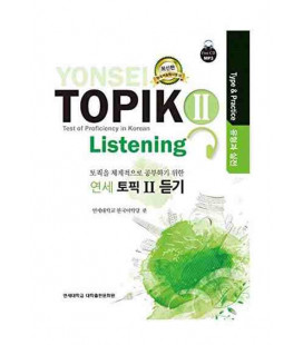 Yonsei Topik II- Listening (Test of Proficiency in Korean)- Type & Practice- CD incluso MP3