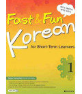Fast & Fun Korean for Short-Term Learners 1- Incluye CD MP3