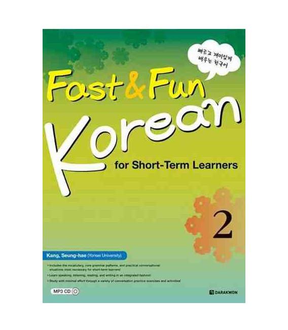 Fast & Fun Korean for Short-Term Learners 2- CD incluso MP3