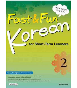 Fast & Fun Korean for Short-Term Learners 2- Incluye CD MP3