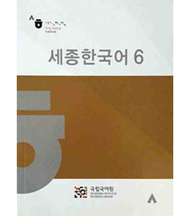 Sejong Korean vol.6 - Version Coréenne - CD Inclus