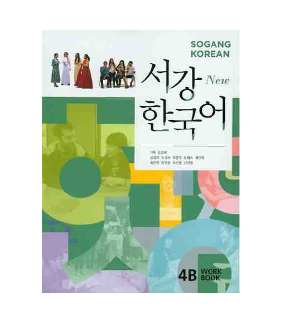 Sogang Korean New 4B- Workbook (Book + 1 CD)