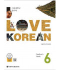 I Love Korean 6 - Student`s book (QR code pour audio)