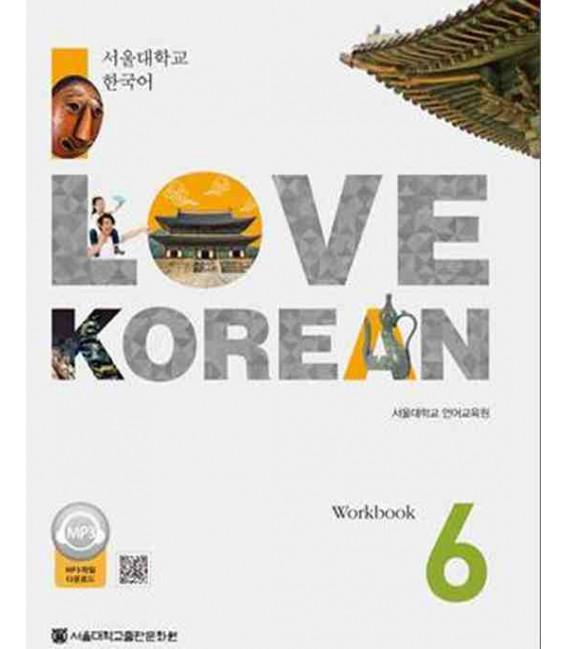 I Love Korean 6 - Workbook (QR Code for audio)
