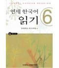 Yonsei Korean Reading 6 (CD inclus)