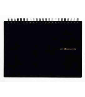 Maruman Mnemosyne Notebook N182A (Format A5) - Quadrillé 5 mm