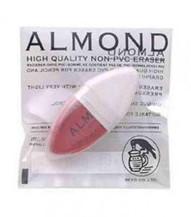 Seed Eraser Almond - Goma de lápiz de calidad superior (Sin PVC)- importado de Japón