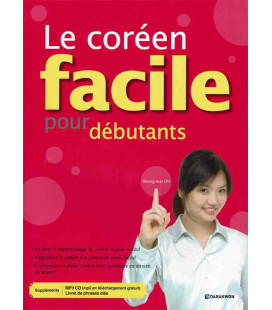 Le coréen facile pour débutants (CD MP3 included + phrase booklet)