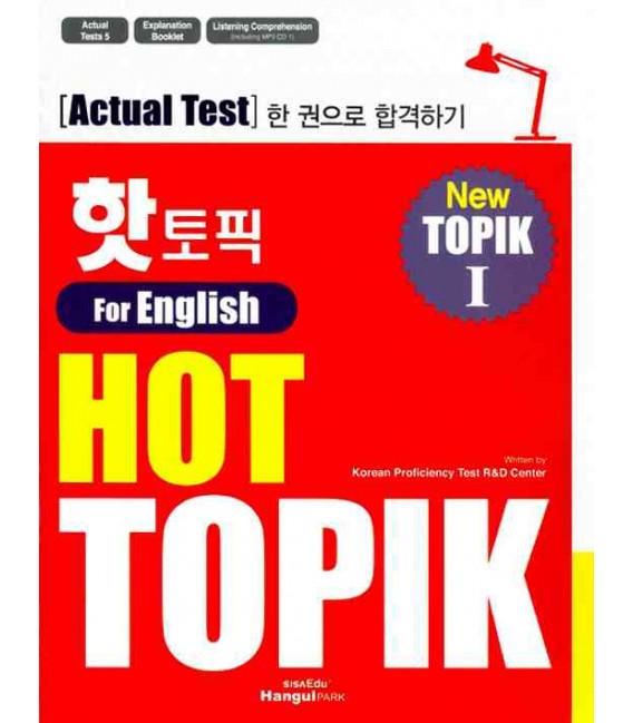 Hot Topik 1 for English - New Topik 1 Actual Test (Incluso CD-Mp3)