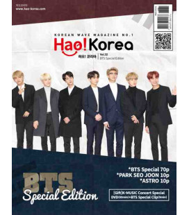 Hao Korea BTS Special Magazine - Included K-MUSIC Concert Special DVD(80min)+ BTS Special Clip(9min)